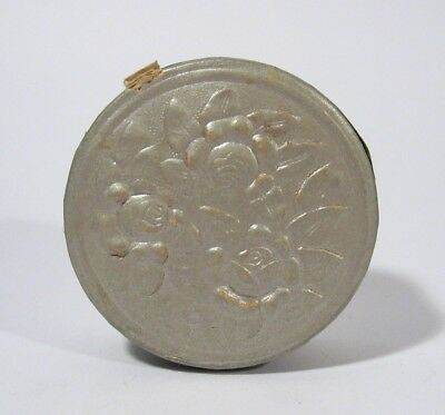 UNOPENED SEALED Antique 1920's Art Deco ROSAFLOR Compact Facial Powder Box Full