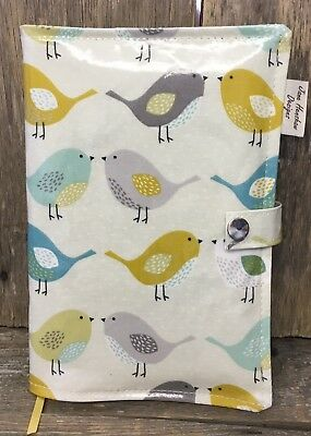 A5 Diary Cover,Journal Cover,Nurses Diary Cover,Week To View Cover,Birds