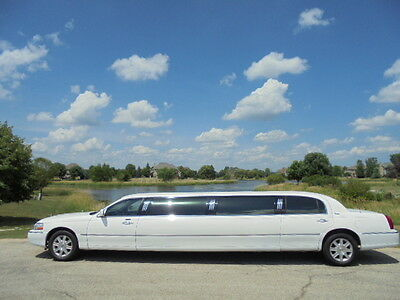 "2008 Lincoln Town Car  Lincoln Town Car Stretch Limousine 120"" Limo Dabryan Coach...Gorgeous!!"