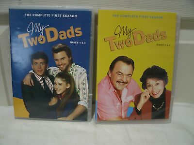 My Two Dads - Season 1 DVD Set! 4 DVDs!