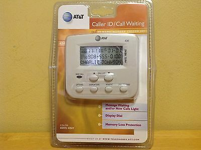 AT&T Caller ID/Call Waiting Display 436 - Brand New/Sealed