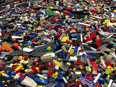 ☀️ 1 POUND of Clean 100% LEGO Pieces Random from Huge Bulk Lot ☀️