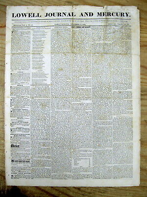 1835 newspaper ANDR JACKSON Cherokee Indian Removal Policy speech TRAIL OF TEARS