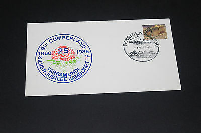 Aust 1985 Yarramundi Nsw 9Th Cumberland Jamborette Souvenir First Day Cover