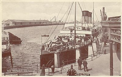 Postcard - Holyhead - The Harbour
