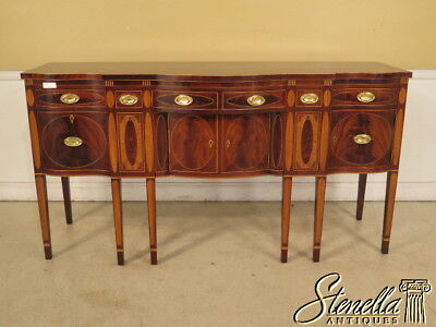 L25436EC: KINDEL Winterthur Collection Inlaid Mahogany New York Sideboard
