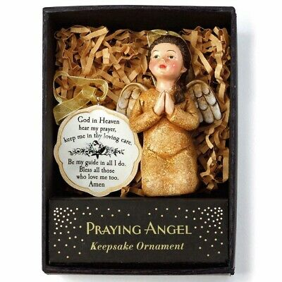 Teresa Kogut Praying Angel God in heaven hear my prayer Ornament 2020150274