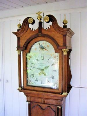 Regency Longcase Grandfather Clock.