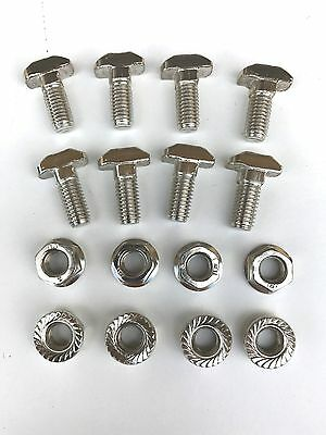 8 Set of T Head Screw, M8x20, Flange Nut M8 for 4040  8mm T-Slot Profile