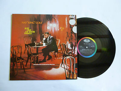 Nat King Cole ~ Just One Of Those Things ~ Ems 1105 ~ Quality Near Mint Vinyl Lp