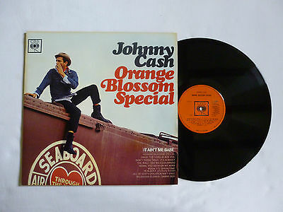Johnny Cash ~ Orange Blossom Special ~ Bpg 62501 ~ Quality 1965 Uk Mono Vinyl Lp