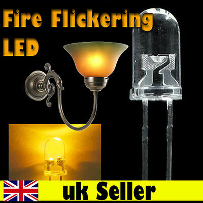 Flickering LED light bulb (It flickers like a FLAME) Dolls House fireplace