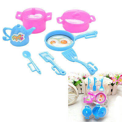Kitchen Tableware Doll Accessories For Barbie Dolls Girls Baby Play Toy Pop