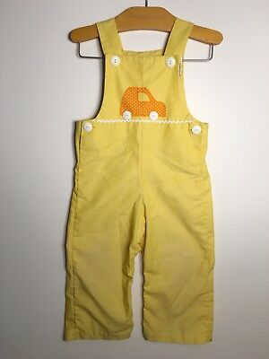 Vintage Childrens overalls Pantsuit Fischèl tiny finery toddler