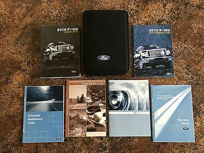 Ford 2010 F150 F 150 Owners Operators Owner Manual