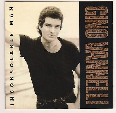 Gino Vannelli - Inconsolable man (CD, 1990, Polydor) Synth-pop, Pop Rock