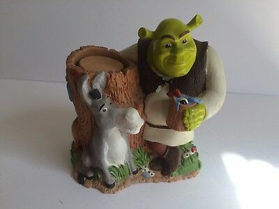 Shrek & Donkey collectible dixie cup dispenser holder kids bathroom decor
