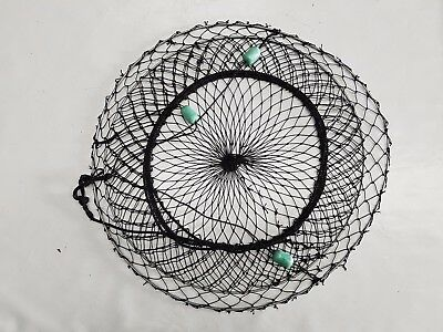 Crab Nets 90cm Pro Galvanised - Mesh Bottom - High Quality Construction