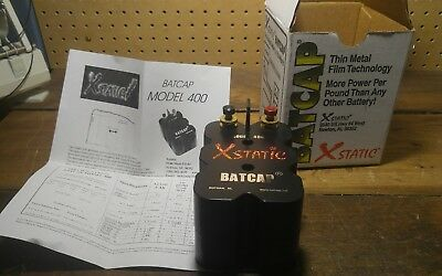 XSTATIC BATCAP Model 400 200 Farad 400+ amps and White Rodgers 12V Solenoid