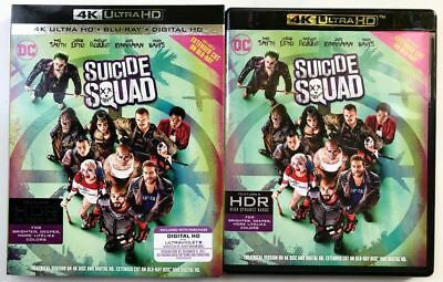 Suicide Squad 4K Ultra Hd Uhd Blu-Ray Extended Edition 2 Disc Slipcover Sleeve