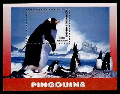 Cambodia 2120 MNH Penguins, Birds