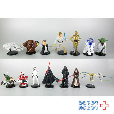 Furuta Choco Egg Star Wars Mini Figure COMPLETE x14 pcs set Japan Disney