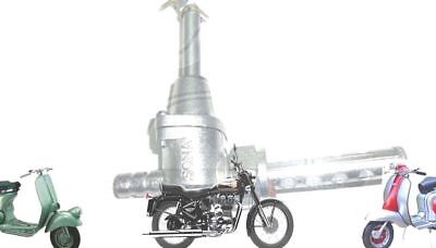 Lambretta Complete Fuel Tap Metal Filter Gp Li Tv Sx Scooters @au