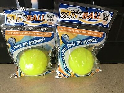 2 Blitzball Base Balls Training Aid (used by Dude Perfect) UK Seller! Buy A Pair