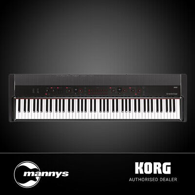 Korg Grandstage 88-Key Stage Piano w/ Music Rest, Pedal & Keyboard Stand