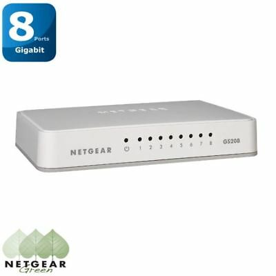 Netgear Switch 8 ports Gigabit GS208
