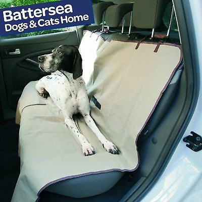 Pet Seat Cover Protect Rear Seats Filter Dirt Hair Spills Waterproof Polyester