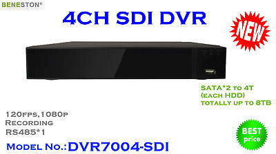 4CH HD-SDI DVR, 1080P real time preview, Mutiview
