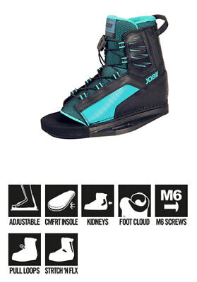 Chausses wakeboard Republik Bindings Jobe 2018 - Légère, Facile, confortable