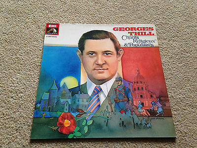 georges thill French Vinyl LP