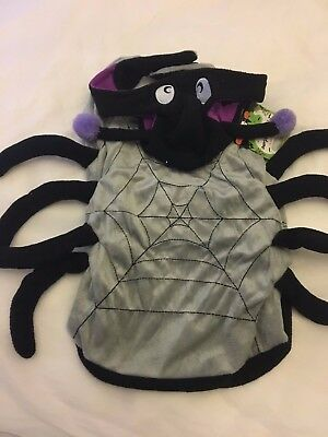 Dog Fancy Dress Outfit Halloween Spider Dog Costume