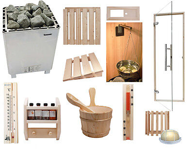Oceanic Heavy Duty Commercial Celebration Sauna Kit