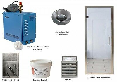 Oceanic Domestic Steam Room Kits