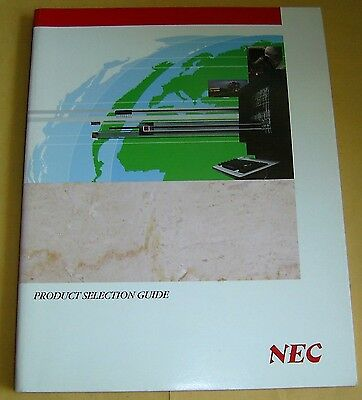 Vintage 1991 NEC Product Selection Guide