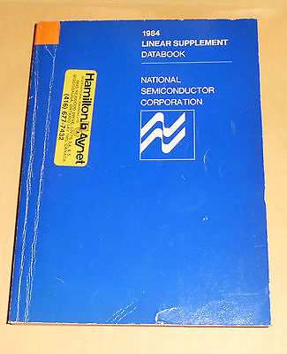 Vintage 1984 National Semiconductor Linear Supplement Databook