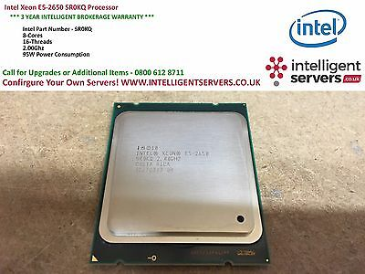 Intel Xeon E5-2650 SR0KQ Processor