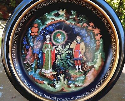 1990 Russian Legends Collector Series Plate The Stone Flower Bradex 60-V25-1.8