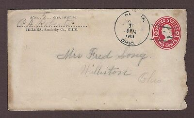 mjstampshobby 1910 US Vintage Cover Used (Lot4868)