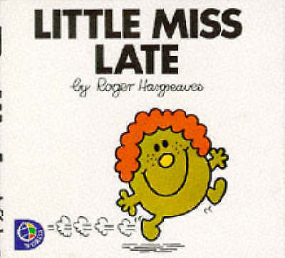 Little Miss Late by Roger Hargreaves (Paperback, 1998)