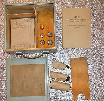 Repair kit for Tube tester L3-3 from Soviet