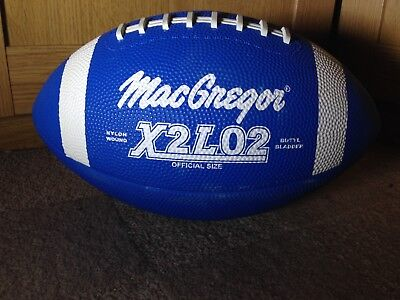 MacGregor X2L02 American Football Official Size NFL NCAA