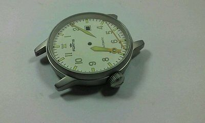 Fortis Flieger Gents Watch, Complete Case,new(White Dial)Great Looking