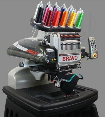Melco Bravo Package C - 16 Needle Embroidery Machine. Lease for 273.00 a month
