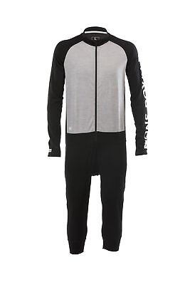 Mons Royale Supermons 3/4 One Piece Geo Thermal Mens Unisex Thermal Base Layer