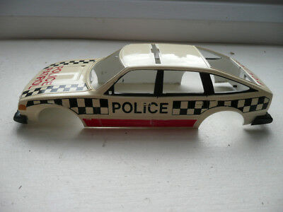 Scalextric C362 Rover 3500 'Police Patrol' Body Shell