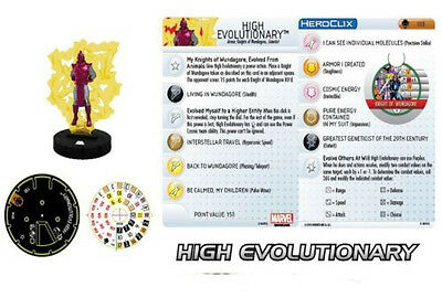 HEROCLIX: Age of Ultron Set Limited Edition #103, High Evolutionary!